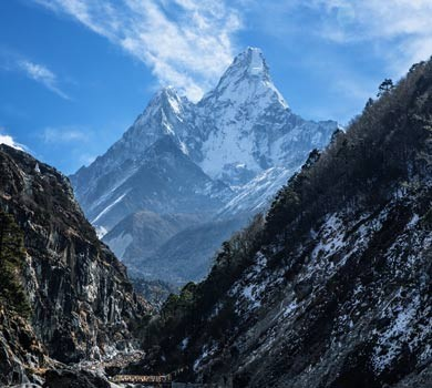 EBC Trek in October, Ama Dablam