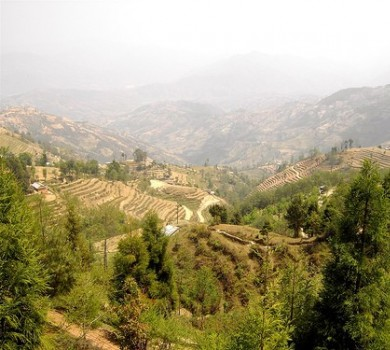 Dazzling View of Hills and Mountains, Nagarkot Hike